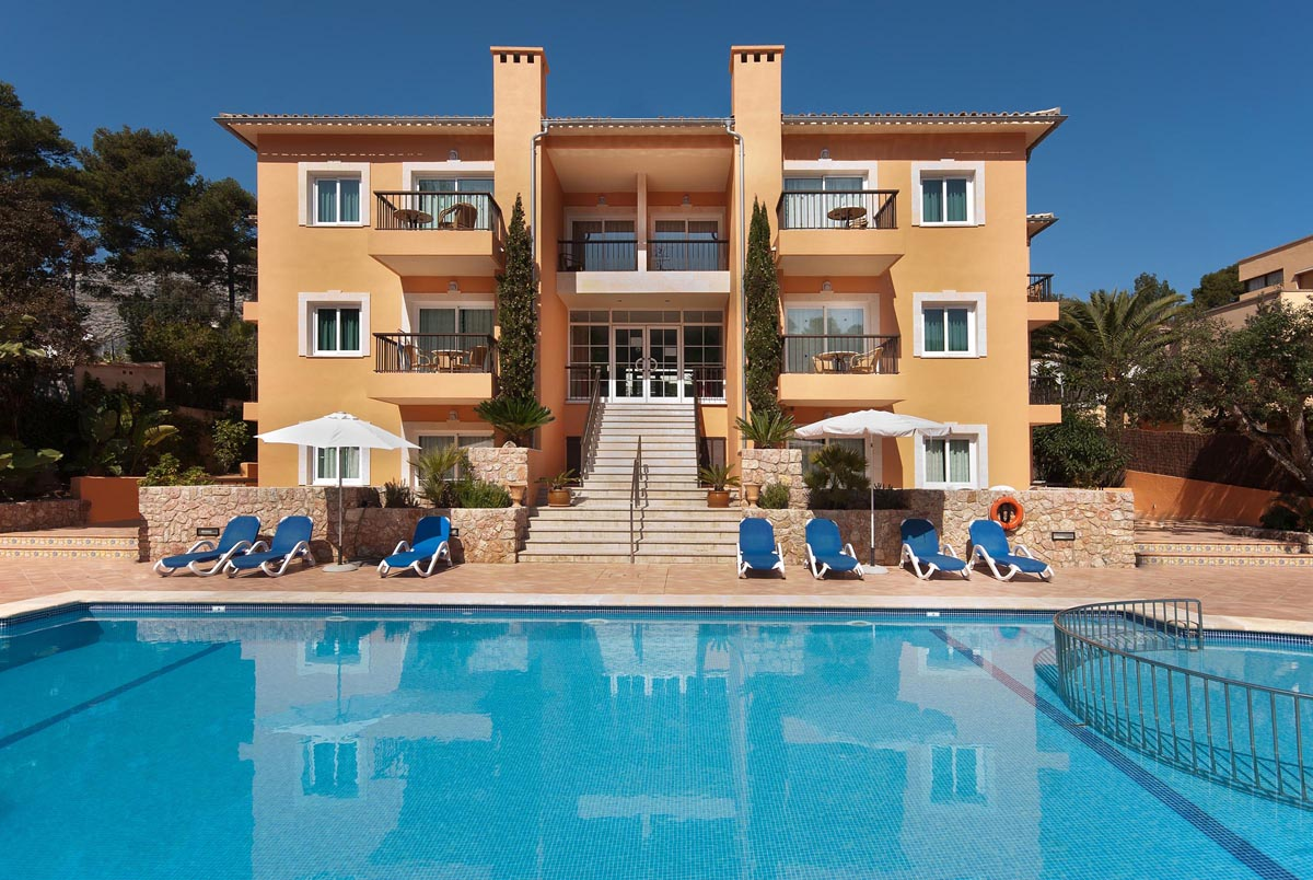 Apartments Pinos Altos in Cala San Vicente, Mallorca