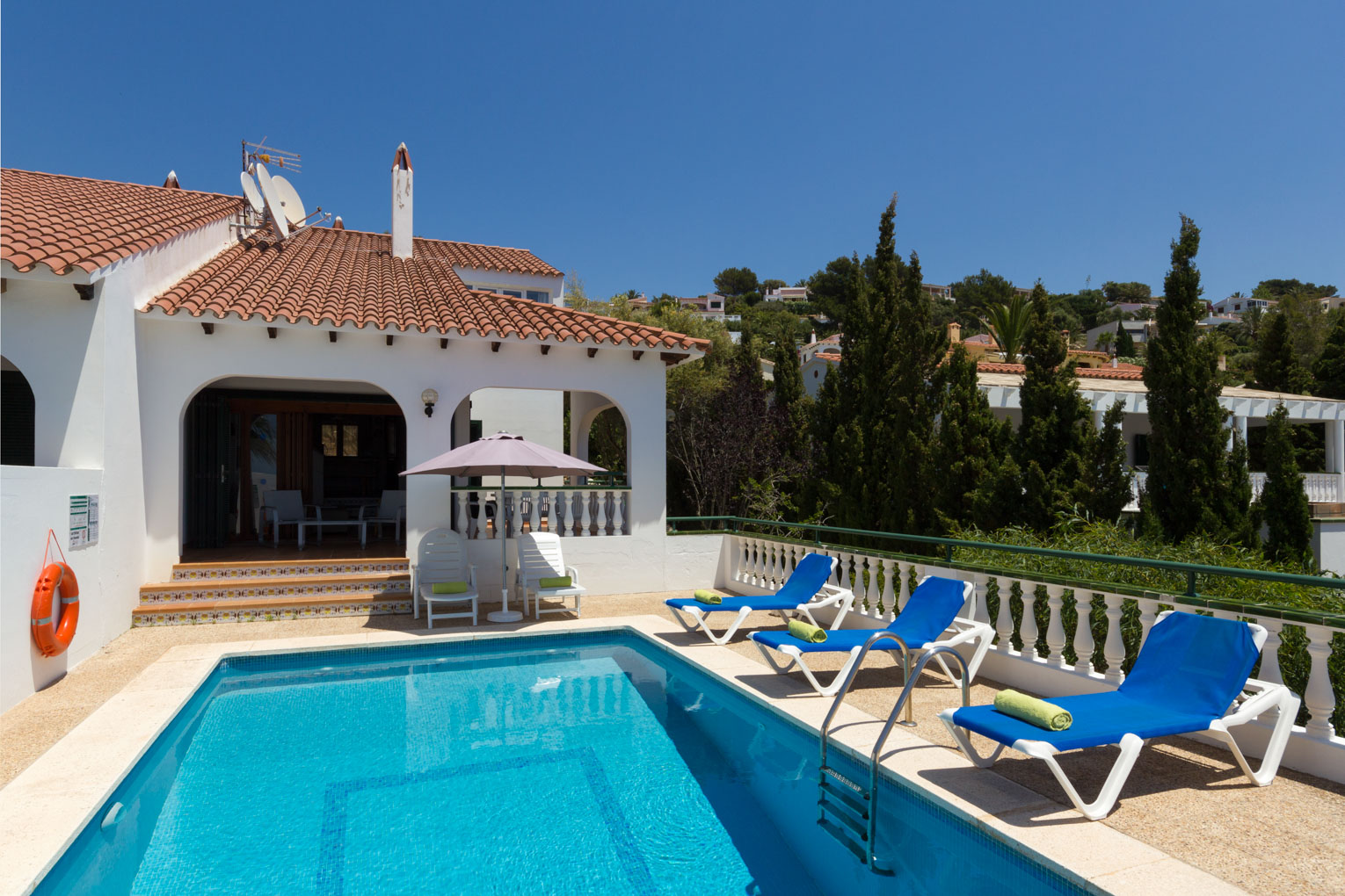 Villa Carolina in Son Bou, Menorca