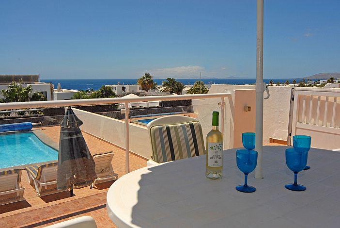 Villas vistas del mar villa in puerto del carmen lanzarote - Lanzarote walks from puerto del carmen ...