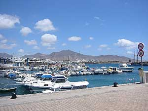Playa Blanca harbour - Lanzarote